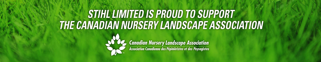 STIHL Limited is Proud to Support the Canadian Nursery Landscape Association