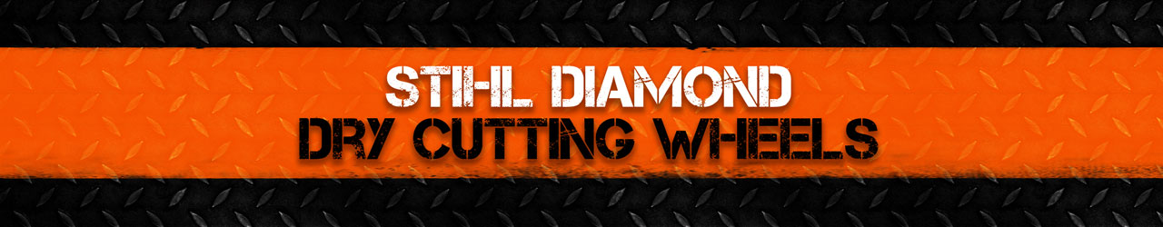 STIHL Diamond Dry Cutting Wheels