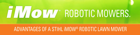 Introducing the STIHL iMow<sup>®</sup> Robotic Mowers