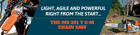 The MS 201 T C-M Chain Saw