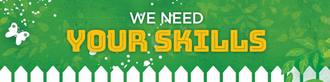 We Need Your Skills