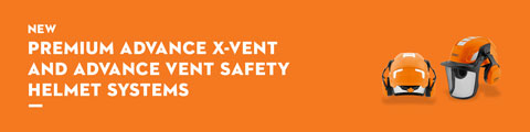 Premium ADVANCE X-Vent and ADVANCE Vent Safety Helmet Systems